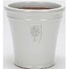 イギリスRHS・プレミアム釉薬鉢・マリナー 42cm (ホワイト) (SS-SPK-RH04L-WT)
