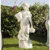 花かごを持つ乙女・小 H70cm (NS-ST017501)