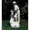 木桶と農婦 H100cm (NS-ST019001)