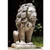 古代エジプトのライオン・左 H44cm (NS-TE0373)