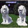 シリアのライオン・左 H96cm (NS-TE0397)