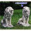 アラビアのライオン・右 H68cm (NS-TE0400)