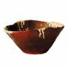 信楽焼 睡蓮鉢 白釉流しひねり水鉢 43cm (SG-SA100-8)