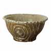 信楽焼 睡蓮鉢 イラボガラス水鉢 42cm (SG-SA101-2)