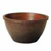 信楽焼 睡蓮鉢 窯肌千段水鉢 43.5cm (SG-SA101-3)