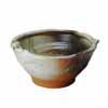 信楽焼 睡蓮鉢 蛙付白釉ビードロ流し水鉢 40cm (SG-SA101-4)