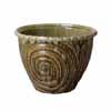 信楽焼 睡蓮鉢 イラボガラス深型水鉢 37cm (SG-SA101-6)