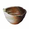 信楽焼 睡蓮鉢 蛙付白釉ビードロ流し水鉢 31cm (SG-SA103-6)