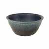 信楽焼 睡蓮鉢 ブルー斑点めだか鉢 29.5cm (SG-SA103-8)
