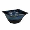 信楽焼 睡蓮鉢 ブルーガラス四角水鉢 57.5cm (SG-SA91-1)