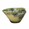 信楽焼 睡蓮鉢 緑白流しひねり水鉢 64cm (SG-SA91-2)