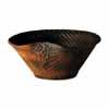 信楽焼 睡蓮鉢 コゲラセン彫り水鉢 66cm (SG-SA91-3)