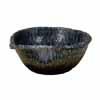 信楽焼 睡蓮鉢 紺ビードロ白流し水鉢 62cm (SG-SA91-6)