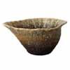 信楽焼 睡蓮鉢 茶窯ひねり水鉢 63cm (SG-SA92-2)