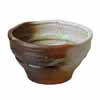 信楽焼 睡蓮鉢 白釉ビードロ流し水鉢 55cm (SG-SA94-4)