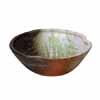 信楽焼 睡蓮鉢 白釉ビードロ流し浅型水鉢 54cm (SG-SA94-6)
