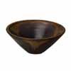 信楽焼 睡蓮鉢 金彩ソリ型水鉢 45cm (SG-SA95-3)
