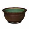 信楽焼 睡蓮鉢 窯肌トチリワン型水鉢 56cm (SG-SA95-5)