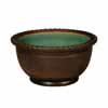 信楽焼 睡蓮鉢 窯肌トチリワン型水鉢 50cm (SG-SA95-6)