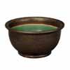 信楽焼 睡蓮鉢 窯肌ケズリ鈴型水鉢 55.5cm (SG-SA95-10)