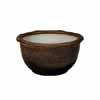 信楽焼 睡蓮鉢 窯肌水鉢 48cm (SG-SA95-13)
