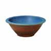 信楽焼 睡蓮鉢 焼締トルコブルー水鉢 54cm (SG-SA97-3)