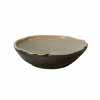 信楽焼 睡蓮鉢 黒釉浅型水鉢 53cm (SG-SA97-5)
