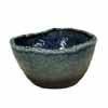 信楽焼 睡蓮鉢 ブルーひねり水鉢 49cm (SG-SA98-3)