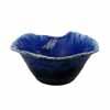 信楽焼 睡蓮鉢 青流しひねり水鉢 49cm (SG-SA98-4)