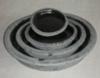 アンティーク・ポット・ロング・ソーサー セット4 [ブラック] (SS-SPK3541-03L)