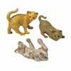 ガーデンオブジェ(置物) やんちゃな猫 セット3 (MH-DE-004345P)