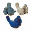 ガーデンオブジェ(置物) 鳥の親子 セット3 (MH-DE-004347P3)