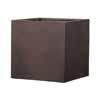 木目調植木鉢カバー MOKU・キューブ 40cm (MH-EB-THKI01)
