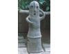 埴輪[はにわ]の置き物 踊る埴輪 中 [男] [H32cm]