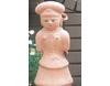 埴輪[はにわ]の置き物 正装の女 大 [H52cm]