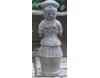 埴輪[はにわ]の置き物 正装の女 中 [H32cm]