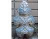 埴輪[はにわ]の置き物 土偶メガネ [H30cm]