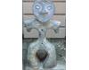 埴輪[はにわ]の置き物 土偶ハート [H30cm]
