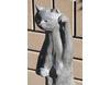 埴輪[はにわ]の置き物 ネコ [H33cm]