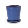 ビトロ・コパ 21cm (受皿付き) (ブルー) (YT-VT-010N07P)