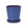 ビトロ・コパ 26cm (受皿付き) (ブルー) (YT-VT-010N09P)